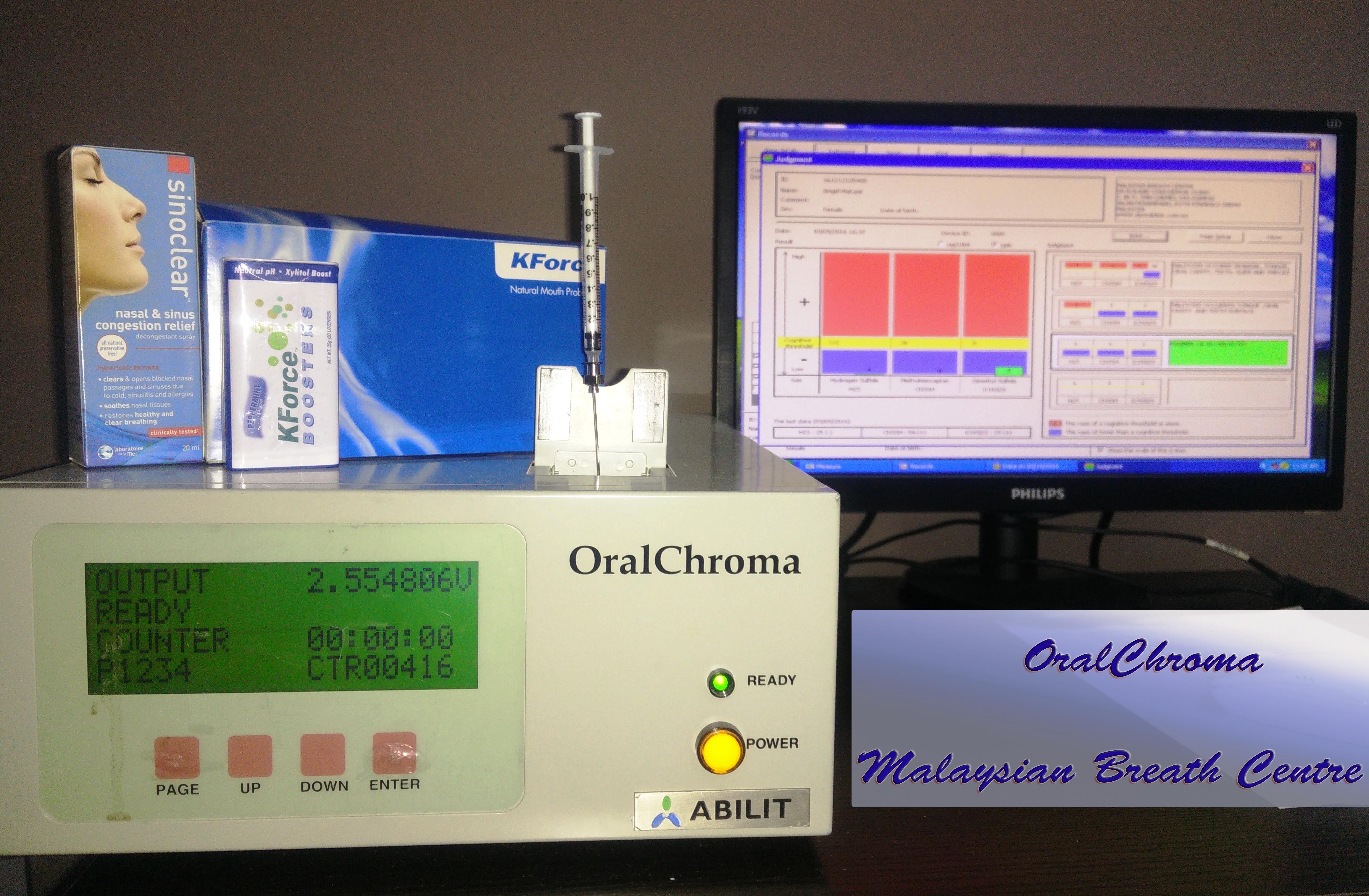 Oral Chroma Machine